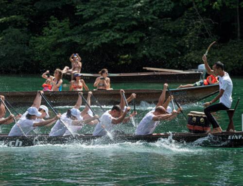 Drachenboot-Rennen Eglisau